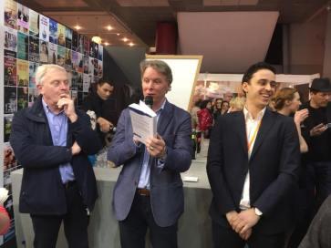 livre paris 2017 seance dédicaces